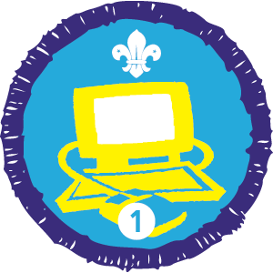 Information Technology Staged Activity Badge